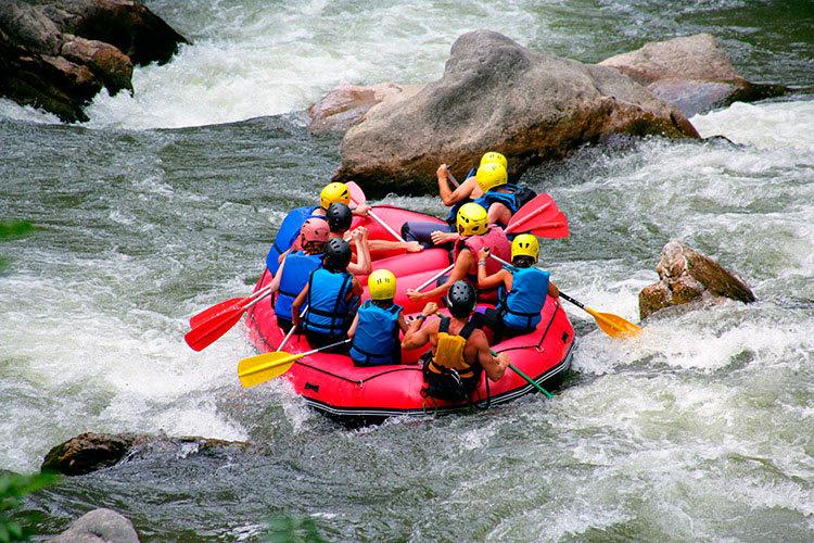 rafting-en-montagne