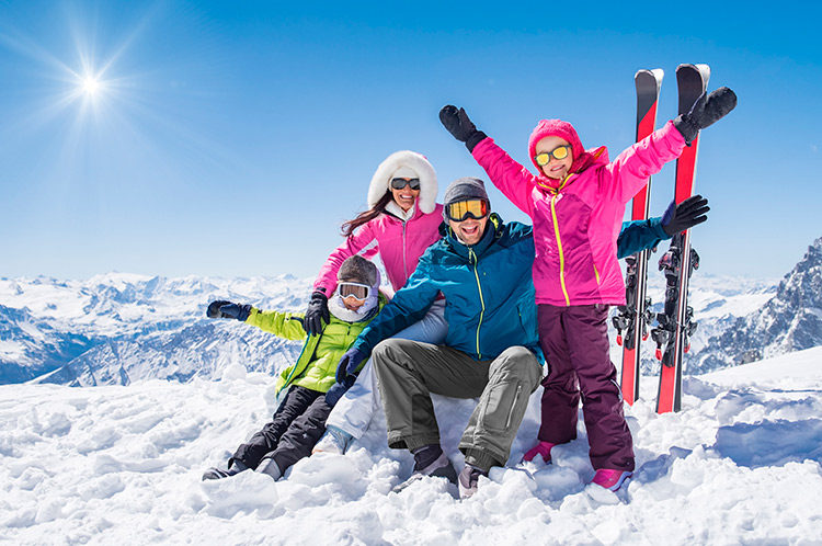 famille-au-ski-france