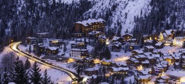 courchevel nuit