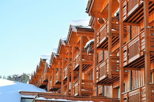résidence chalet montagne