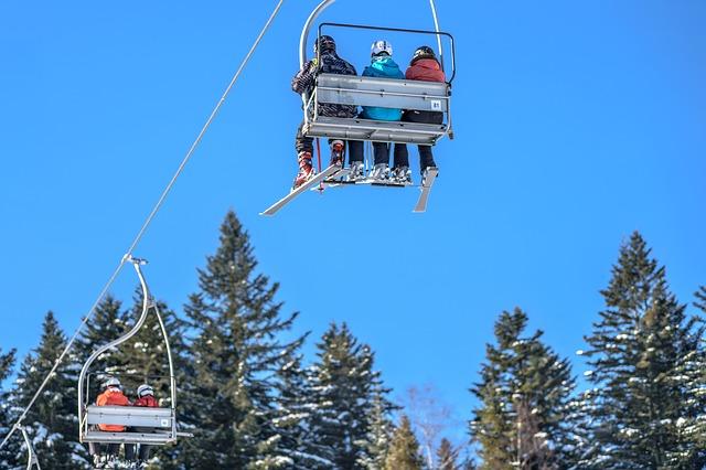 télésiège ski